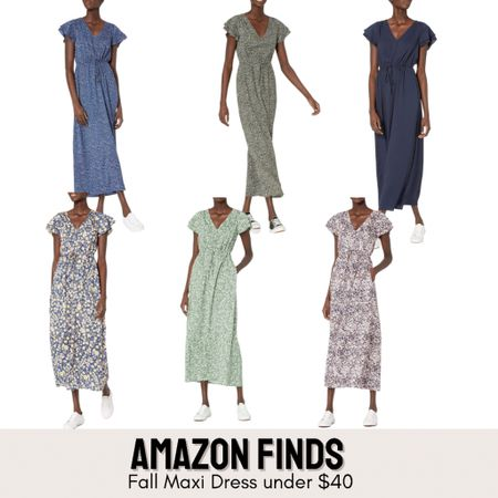 These maxi dresses are cute and great for layering. Pair it with a pair of combat boots or sneakers for a great fall casual look    #LTKGiftGuide #LTKunder50 #LTKstyletip
