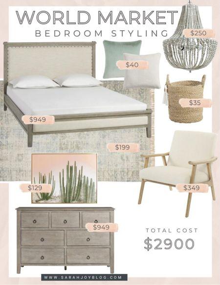 World Market bedroom design!   #LTKsalealert #LTKhome #LTKstyletip