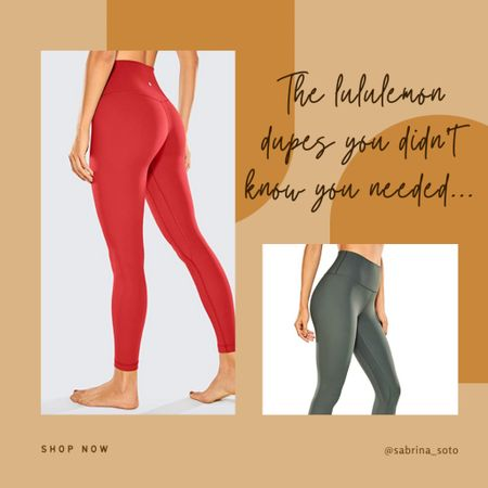 #LululemonDupe Alert ‼️  Any #Lululemon fans out there? Me too! The Align Pants are my absolute favorite, but at $100 a pair — well, it's hard to convince myself that I can stock up in every color...but I've found the PERFECT DUPES that I had to share with you! Really — they're almost perfect! Plus, they come in a ton of colors.   Check out my latest blog post for the full scoop, and you can shop these buttery soft leggings with the link in my bio!   http://liketk.it/3fdLw #liketkit @liketoknow.it #LTKstyletip #LTKfit #LTKunder50