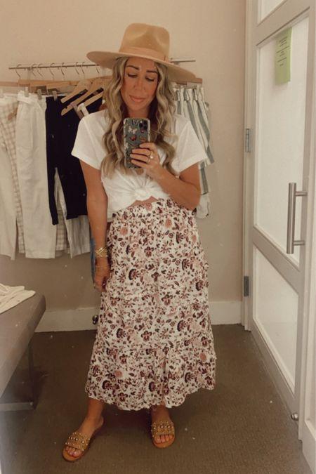 Petite MIDI skirt look!    http://liketk.it/3hCz5 @liketoknow.it #liketkit #LTKunder100 #LTKstyletip