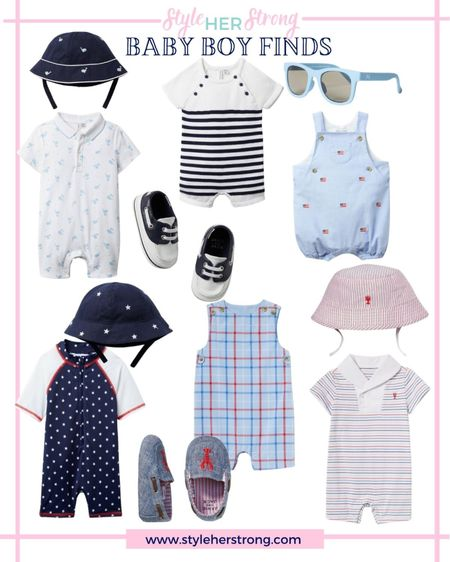 Baby boy finds from Janie and jack Fourth of July outfits preppy nautical   #LTKsalealert #LTKbaby #LTKkids