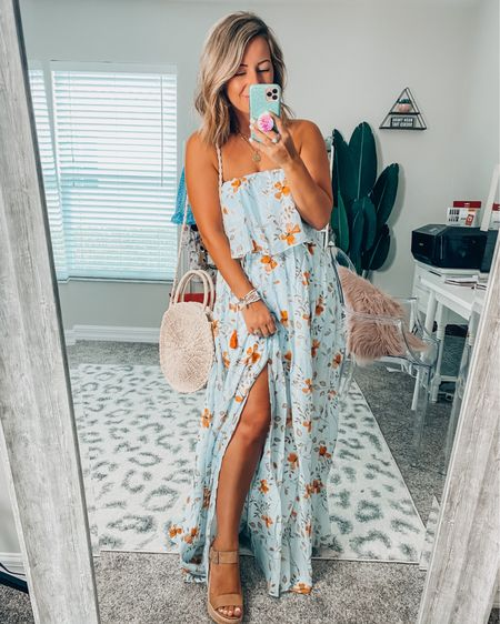 The perfect wedding guest dress!!! I'm obsessed with this maxi floral dress😍 http://liketk.it/3h1Ll #liketkit @liketoknow.it #LTKwedding #LTKunder100 #LTKtravel