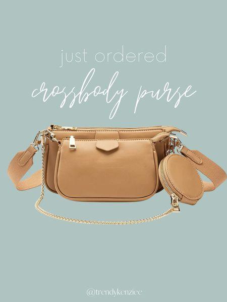 amazon find / amazon bag / amazon purse / crossbody   #LTKunder50 #LTKHoliday #LTKitbag