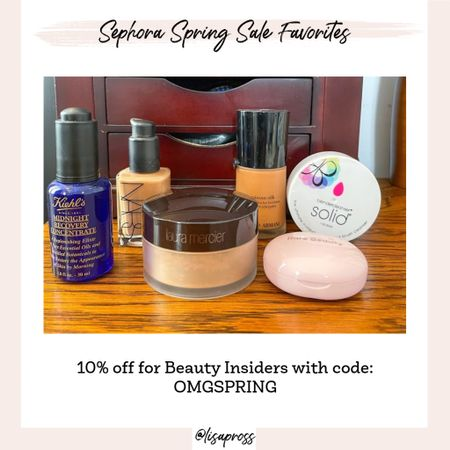 Sephora spring sale picks! Great time to restock any of your go-to beauty products.   #LTKunder100 #LTKbeauty #LTKsalealert