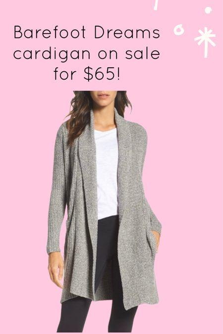 Barefoot Dreams cardigan on sale http://liketk.it/3hW3S #liketkit @liketoknow.it #LTKsalealert