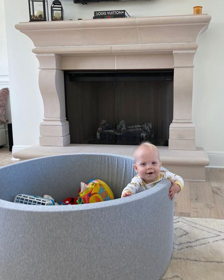 This was one of the best baby purchases ever! I got this for my little guy around 6 months of age. So nice and cozy. When they practice sitting no worries about head bumps. Now he loves crawling in and out. #baby #toys http://liketk.it/32A26 #liketkit @liketoknow.it #LTKbaby #LTKbump #LTKfamily @liketoknow.it.family Screenshot this pic to get shoppable product details with the LIKEtoKNOW.it shopping app