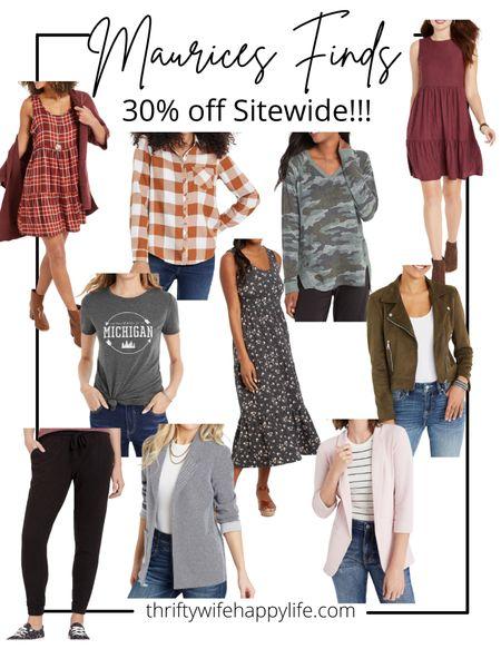 Maurices 30% off sitewide sale! Affordable fall finds!   #LTKunder50 #LTKunder100 #LTKsalealert