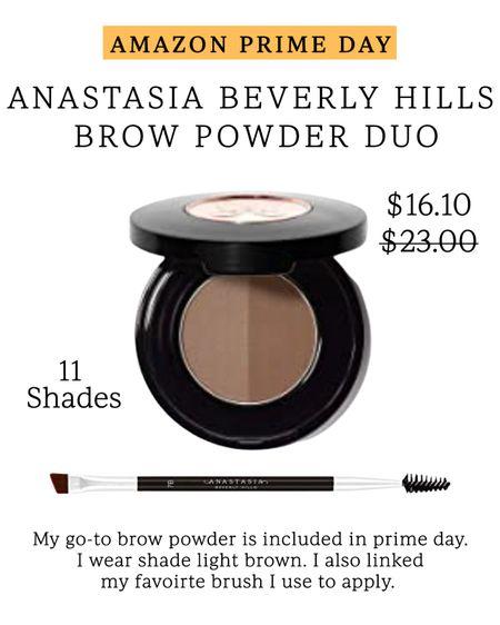 Anastasia brow powder duo - soft brown // Amazon prime day finds // Amazon beauty #LTKbeauty #LTKsalealert #LTKunder50 #liketkit @liketoknow.it http://liketk.it/3i5hk