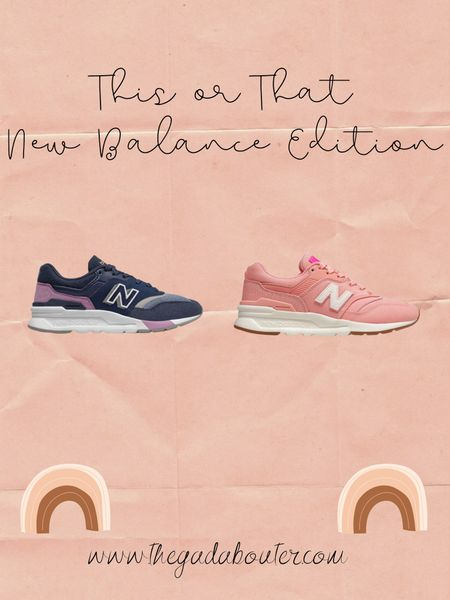 This or That: New Balance Edition http://liketk.it/2MBve #liketkit @liketoknow.it 💕 Download the LIKEtoKNOW.it shopping app to shop this pic via screenshot 💕