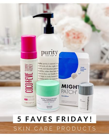 5 favorite skin care products! These are my absolute faves, I always go back to them, I buy again them and again (for years now!) 😍♥️🙌🧴  Skincare  Skin care Beauty Skin care routine Skincare routine Skincare products  Self care Gift guide 5 faves Friday    #LTKbeauty #LTKsalealert #LTKunder50
