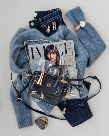 January Blues 💙 currently crushing on blues and the cutest knit jumpers 🧸 @liketoknow.it http://liketk.it/2Jfxx #liketkit #LTKeurope #LTKitbag #LTKbeauty