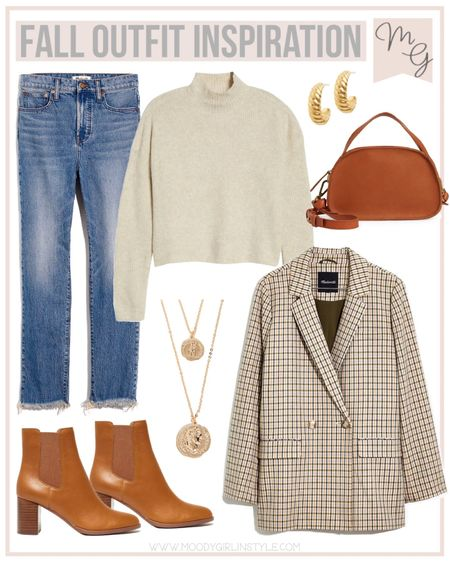 Fall Outfit Idea - Perfect look for your the office or your next fall outing! #madewell @madewell #everydaymadewell #fallinspiration #fallfashion #fallweather   Fall style, fall fashion, madewell fashion, madewell vacation, blazers, madewell style, madewell finds  #LTKSeasonal #LTKunder100 #LTKworkwear #LTKsalealert #LTKstyletip