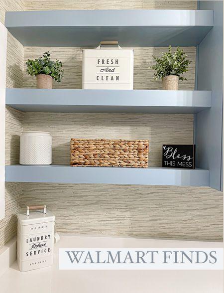 Laundry room home decor  #amazonfinds #walmartfinds #laurabeverlin   #LTKunder50 #LTKhome #LTKsalealert