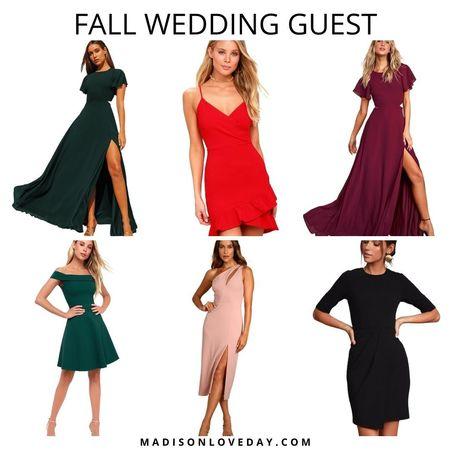 fall outfits, fall dresses, fall date night, fall wedding guest, wedding guest dresses, lulus, fall dress,     #LTKHoliday #LTKSeasonal #LTKwedding