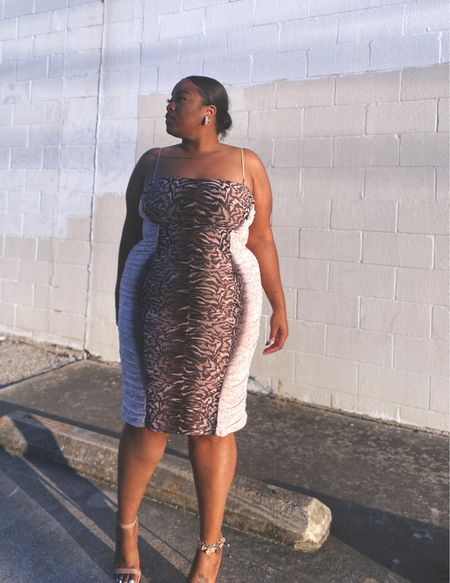 This AMAZING AFRM dress I wore back on Valentine's Day is 40% OFF, making it under $50!!!!!! This is the perfect plus size date night dress, or even as a wedding guest dress for an evening wedding OR with your girls for a spring night out. I absolutely love this dress. You can grab it now!!!   #LTKcurves #LTKSpringSale #LTKunder50