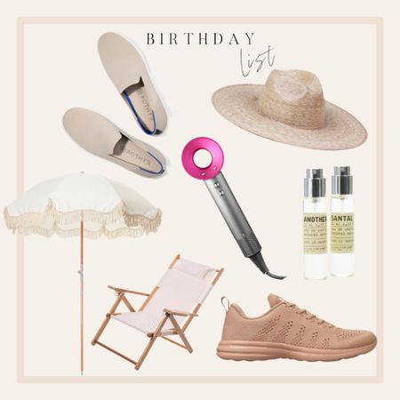 Birthday gift ideas. Nude sneakers. Beach umbrella. Rothys sneakers. Dyson hair dryer. http://liketk.it/3bYrA #liketkit @liketoknow.it