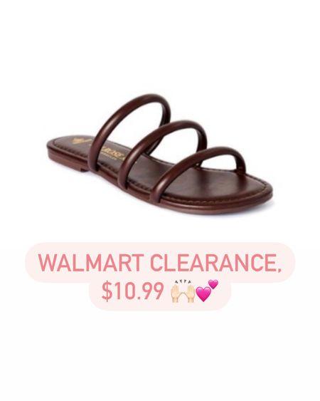 Sandals on clearance for $10.99! Was $29 http://liketk.it/3gDer #liketkit @liketoknow.it #LTKshoecrush #LTKsalealert