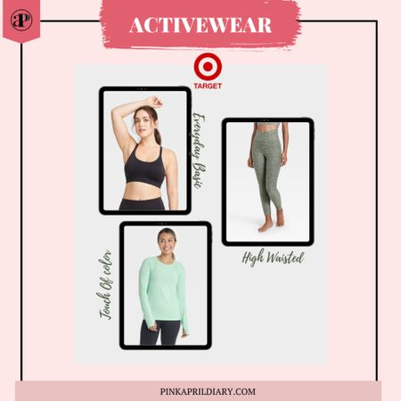 Spring Activewear Favorites from Target!  Perfect touch of color and motivation you need to work out! #LTKunder50 #LTKfit  http://liketk.it/38NMP #liketkit @liketoknow.it