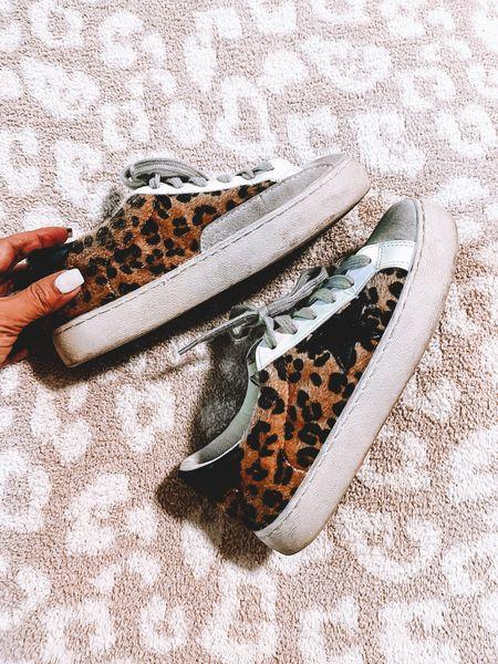 Golden Goose Animal Print, Leopard print sneakers, fall sneakers   #LTKstyletip #LTKshoecrush #LTKSeasonal
