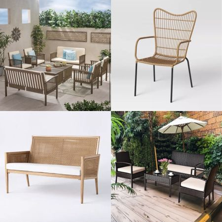 Outdoor living from Target