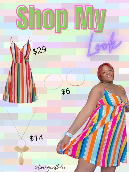 OOTD #amazonfind #minidress #midsize #summer #vacation #targetfind #pendantknecklace http://liketk.it/3hd5l #liketkit @liketoknow.it #LTKstyletip #LTKunder50