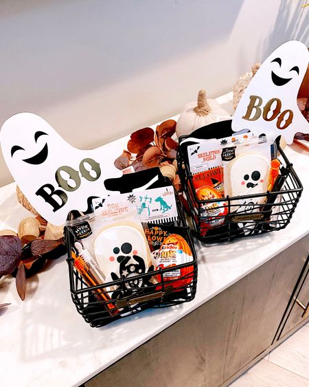 BOOOOOO!!! It's OCTOBER 👻💀 time to get in the spooky spirit! Starting the new month off with these cute little boo baskets to get the kiddos in the spirit!!    #LTKHoliday #LTKSeasonal #LTKkids