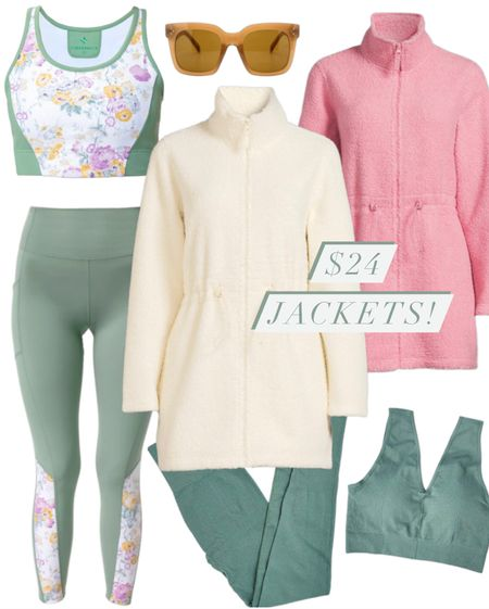 Fall Jackets for $24.99!! I wear a size medium in all of these items! See my profile @thebrokebrooke for the try on videos!  #leggings #jackets #shackets #sportsbra #athleisure  #Walmart #WalmartFines #Amazon #AmazonFinds #Sunglasses #Fitness #Athletic #MomOutfits #MomWear #WeekendCasual #JacketsForFall