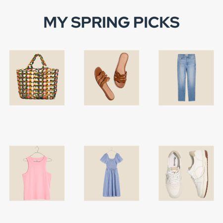 Shop my picks for the perfect spring wardrobe! Dresses, sandals, denim, bags and sneakers! http://liketk.it/3dbkq #liketkit @liketoknow.it #LTKfit #LTKstyletip #LTKsalealert @liketoknow.it.family