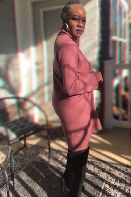 @liketoknow.it #liketkit http://liketk.it/33cOQ #pinksweaterdress