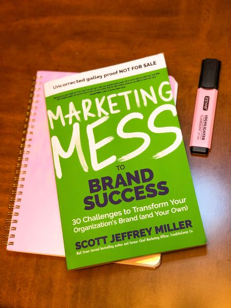 I got to preview Scott Miller's newest book, Marketing Mess to Brand Success! Highly recommend. All the notes and lots of highlighting in my copy! You can preorder on Amazon and it will be released on May 11th 💚 #liketkit @liketoknow.it http://liketk.it/3bPBD