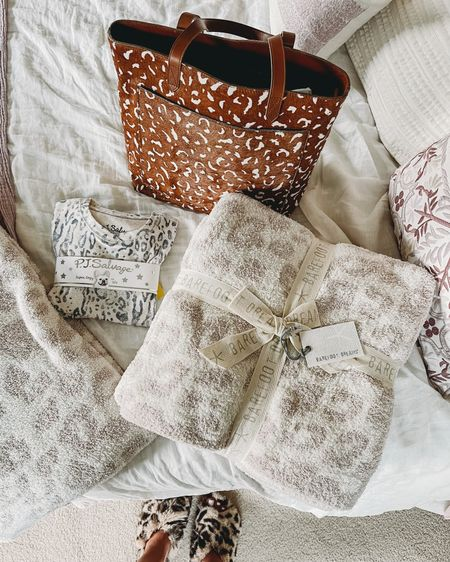 Love these leopard finds at the Nordstrom N sale! This leopard bag is my new favorite for fall and this leopard barefoot dreams blanket is my favorite so had to get another one and these leopard kids pajamas are so soft!! You need them for your girl! 💕 http://liketk.it/3k63b #liketkit @liketoknow.it @liketoknow.it.family #LTKsalealert