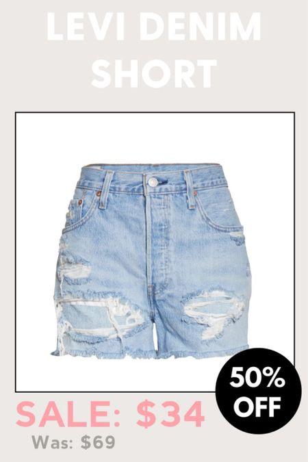 http://liketk.it/3hSnE #liketkit @liketoknow.it #LTKsalealert denim shorts on sale at Nordstrom