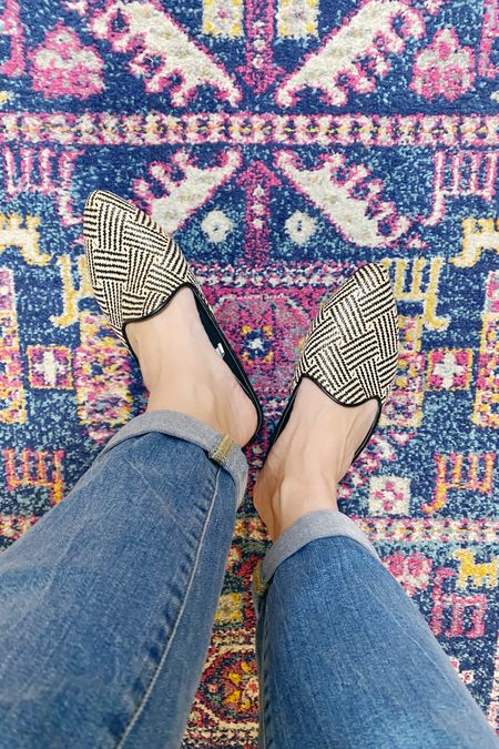 Really comfortable and stylish mules at a bargain. I love the woven detail and that I can just slip them on and run out the door and look like I tired.  #liketkit @liketoknow.it http://liketk.it/331in #LTKsalealert