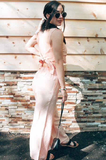 Nothing feels more summer-y than this matching peach/ apricot colour outfit.  🍑   #LTKSeasonal #LTKunder100 #LTKstyletip
