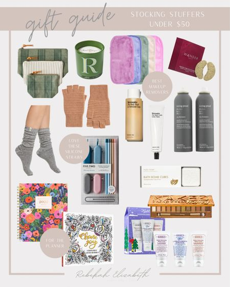Looking for stocking stuffer gifts for her? All of these are under $50! #rebekahelizstyle   #LTKHoliday #LTKGiftGuide #LTKunder50
