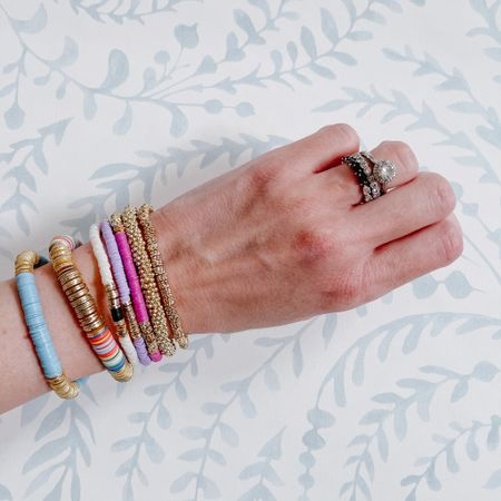 A colorful arm stack 🌈🌈🌈 http://liketk.it/3gY4y #liketkit @liketoknow.it