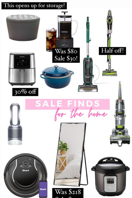 Sale finds for the home! Rounded up all of my favorite appliances, vacuums, and kitchen stuff that is all on major sale right now #liketkit http://liketk.it/3ihcW @liketoknow.it #LTKsalealert #LTKhome #LTKfamily