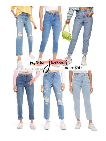 Rounding up some of my top picks for mom jeans under $50    #LTKfit #LTKstyletip #LTKunder50