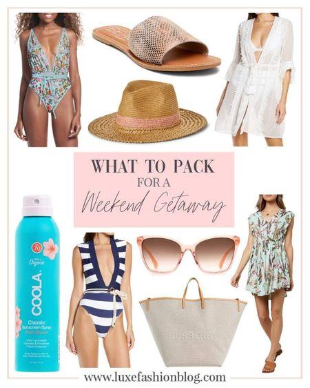 What To Pack For A Weekend Getaway http://liketk.it/3hAho @liketoknow.it #liketkit #LTKbeauty #LTKtravel #LTKstyletip