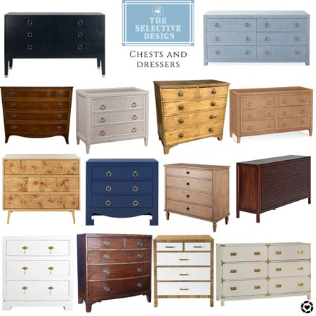 Chests and dressers. Antique and new. All price points!  #LTKhome #LTKstyletip #LTKsalealert