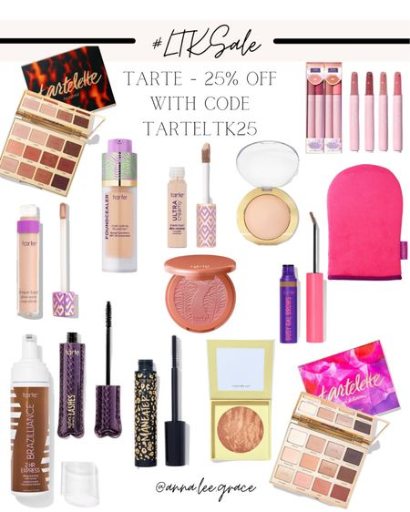 #LTKSALE - Tarte 25% off with code TARTELTK25   #LTKSale #LTKbeauty #LTKsalealert