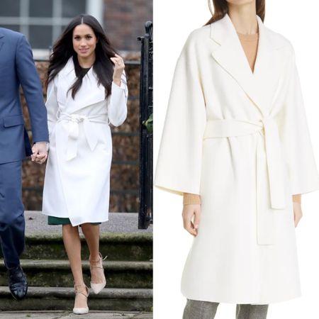 Meghan inspired coat at the Nordstrom sale   #LTKsalealert #LTKstyletip