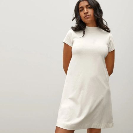 My new favorite t-shirt dress is linked! Under $30 and so comfortable. You need it!  #LTKSale #LTKfit #LTKsalealert