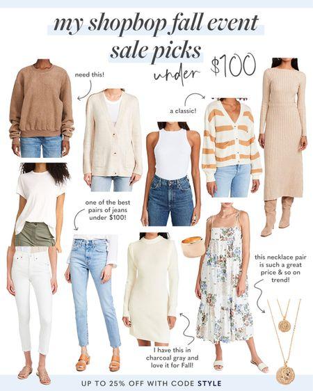 Shopbop sale   #LTKunder100 #LTKsalealert