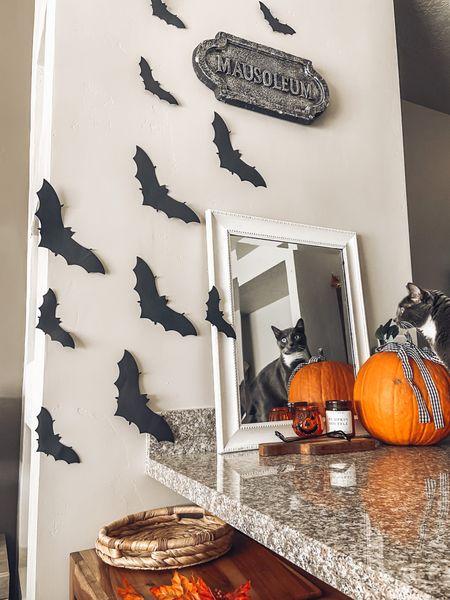 Halloween decor is finally all up at home! 🎃🍁🦇  #LTKhome #LTKfamily #LTKSeasonal