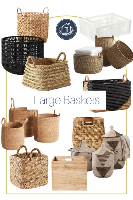 Shop Reset Your Nest's favorite large baskets! http://liketk.it/3laTf @liketoknow.it #liketkit #LTKhome #LTKstyletip @liketoknow.it.home