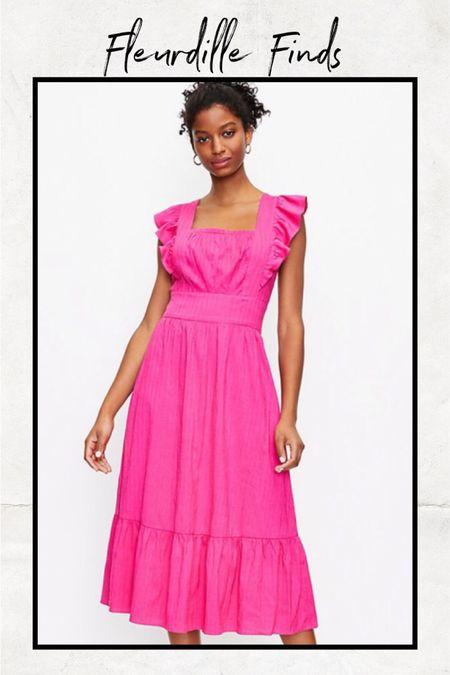 The back on this pink dress is so pretty! @liketoknow.it http://liketk.it/3gGRj #liketkit #LTKunder100 #LTKunder50 #LTKstyletip