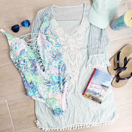 Today's outfit of the day. 🌊💙☀️ http://liketk.it/3evJS #liketkit @liketoknow.it #LTKswim #LTKstyletip