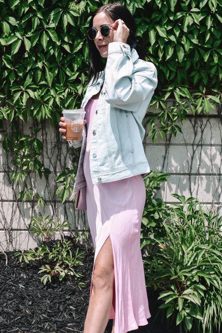 Oversized denim jackets and cute summer dresses! 🌸🌸  #LTKstyletip #LTKunder50 #LTKSeasonal