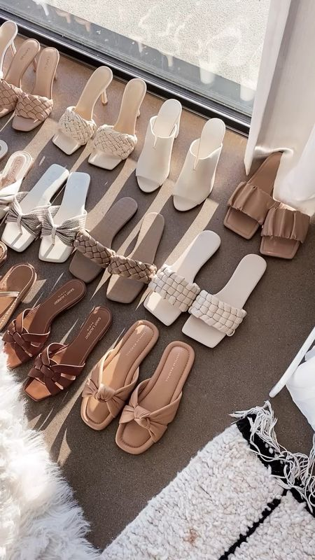 Sandal roundup, sandals, summer shoes, StylinByAylin   #LTKshoecrush #LTKunder100 #LTKSeasonal